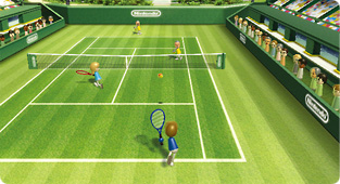 Wiiスポーツ テニス (c) 任天堂