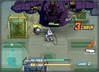 SDガンダム スカッドハンマーズ ゲーム画面1 (c) バンダイナムコ